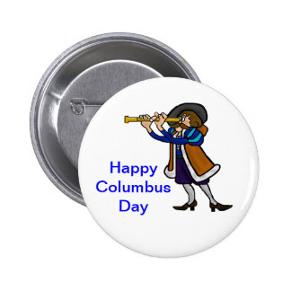 Columbus Day Buttons