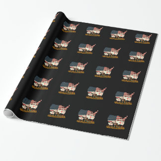 Columbus Day Wrapping Paper
