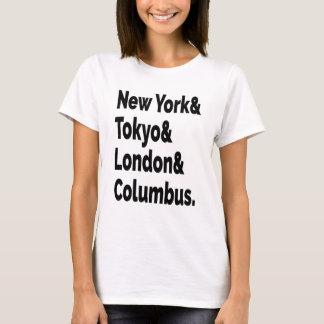 Columbus Hometown T-shirt