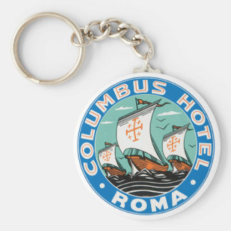 Columbus Hotel, Roma Key Ring