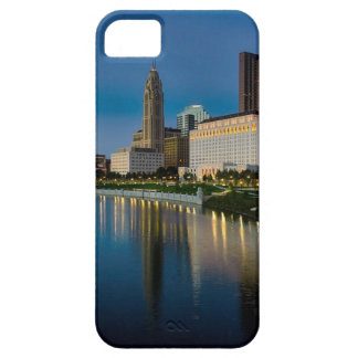 Columbus Night Skyline Barely There iPhone 5 Case