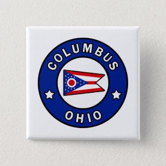 Columbus Ohio 15 Cm Square Badge