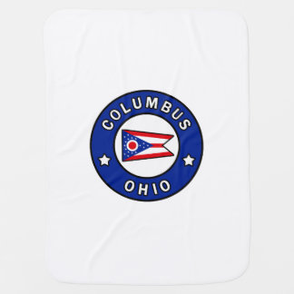 Columbus Ohio Baby Blanket