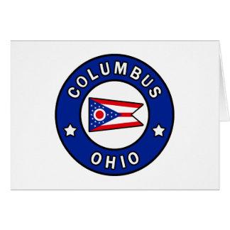 Columbus Ohio Card