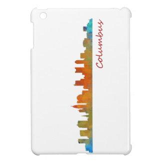 Columbus Ohio, City Skyline, v1 iPad Mini Cover