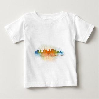 Columbus Ohio, City Skyline, v3 Baby T-Shirt