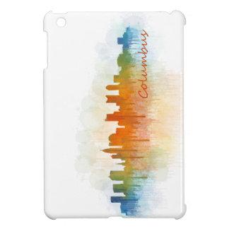Columbus Ohio, City Skyline, v3 iPad Mini Covers