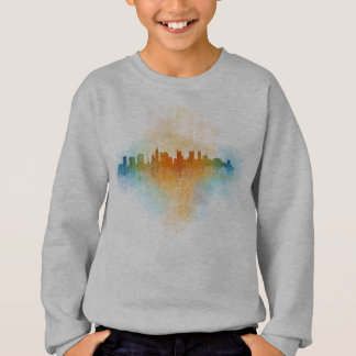 Columbus Ohio, City Skyline, v4 Sweatshirt
