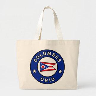Columbus Ohio Large Tote Bag