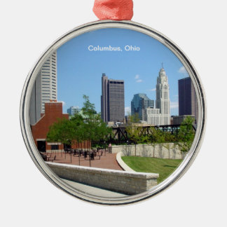Columbus, Ohio Metal Ornament