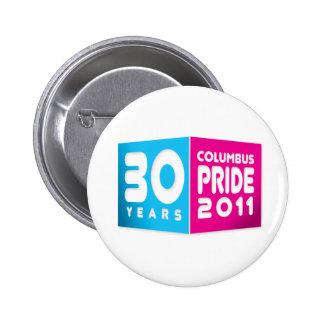 Columbus Ohio Pride 2011 6 Cm Round Badge