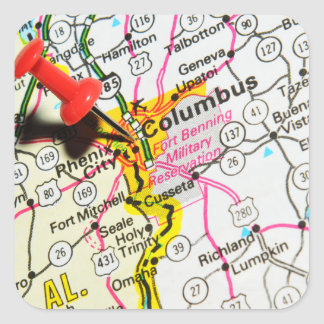Columbus, Ohio Square Sticker