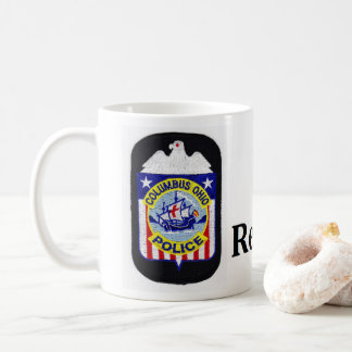 Columbus Police Retirement mug