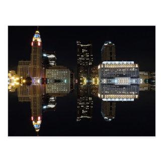 Columbus Reflection Postcard