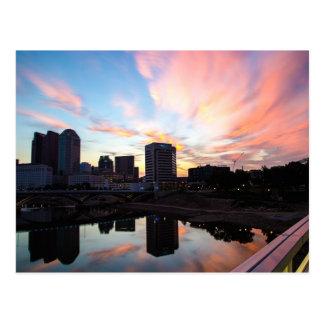 Columbus Sunrise Postcard