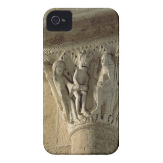 Column Capital, depicting St Benedict performing a iPhone 4 Cover