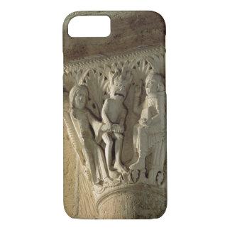 Column Capital, depicting St Benedict performing a iPhone 7 Case