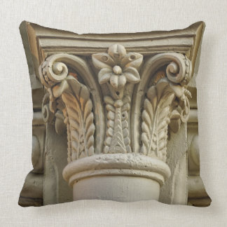Column detail throw pillow