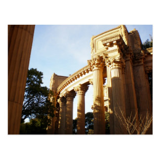 Columns at Palace of Fine Arts Postcard