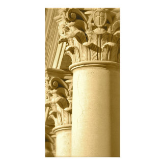 Columns Photo Card Template
