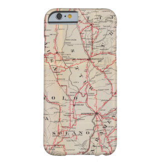 Colusa, Yolo, Napa, Butte, Yuba, Sutter, Solano Barely There iPhone 6 Case