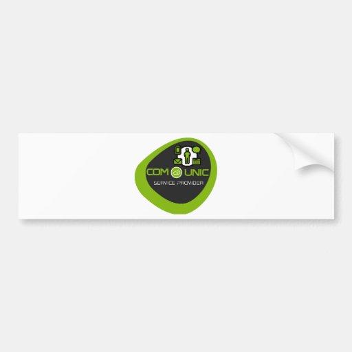COM-unic.ca unified communication Bumper Stickers