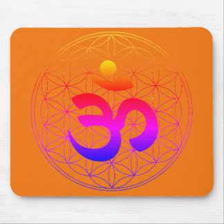 COM with Flower OF Life Mousepad