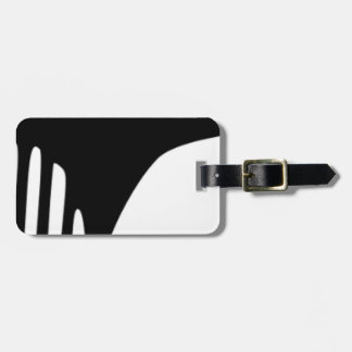 Comb Luggage Tag