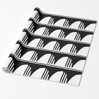 Comb Wrapping Paper