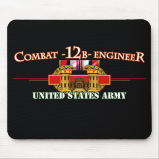 Combat 12B Engineer OEF Mouse Pad