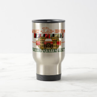 Combat 12B Engineer OEF OIF Travel Mug