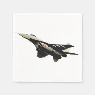 Combat Aircraft Paper Napkins Disposable Napkin