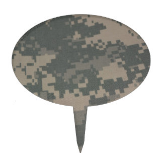 Combat Boots ACU Camouflage Pattern Military Cake Toppers