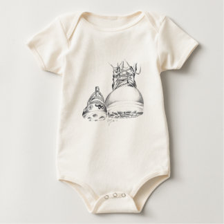 Combat Boots and Mary Janes Baby Bodysuit