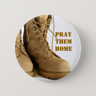 combat boots button