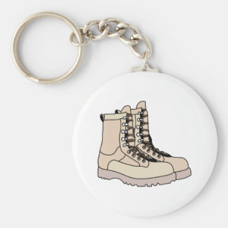 Combat Boots Key Ring
