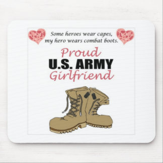 Combat Boots Mouse Pad