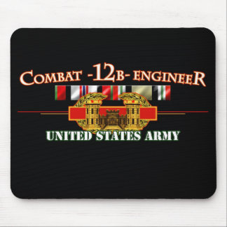 Combat Engineer 12B OEF OIF Mouse Pad