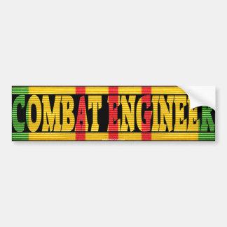 Combat Engineer Vietnam Service Medal Sticker