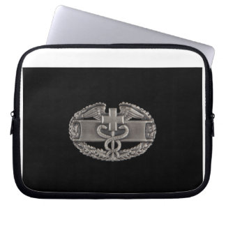 Combat Field Medical Badge (CFMB) Laptop Computer Sleeves