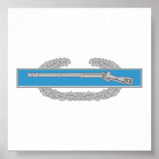 Combat Infantry Badge Poster