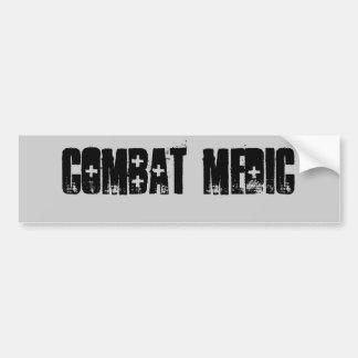 Combat medic Bumper Sticker Car Bumper Sticker