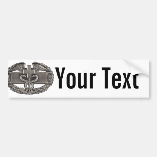 Combat Medic Car Bumper Sticker