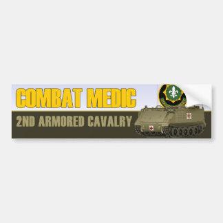 Combat Medic Bumper Sticker