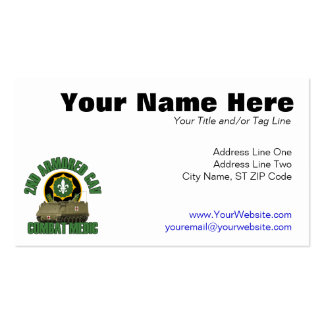 Combat Medic Pack Of Standard Business Cards