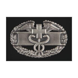 Combat Medic Stretched Canvas Prints