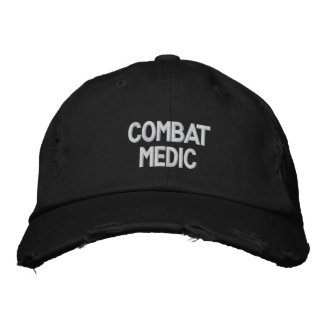 Combat medic Embroidered Hat