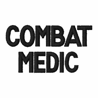 Combat medic Embroidered Shirt
