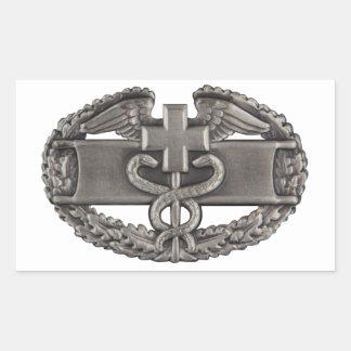 Combat Medic Rectangular Stickers