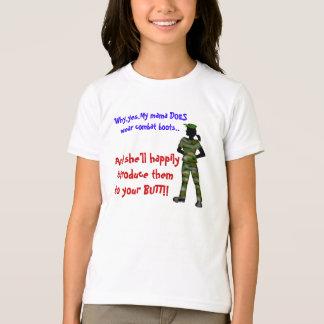 combat mom T-Shirt